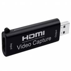 Внешняя карта видеозахвата 4Sport Capture Card USB 2.0 VCC02 Black (4S-VCC02-BK)