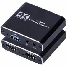 Внешняя карта видеозахвата 4Sport Capture Card USB 3.0 VCC04 Black (4S-VCC04-BK)