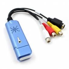 Внешняя карта видеозахвата 4Sport Capture Card USB 2.0 VCC05 Blue (4S-VCC05-BE)