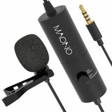 Петличный конденсаторный микрофон Maono AU-100 Black