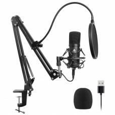 Студийный конденсаторный USB микрофон Maono AU-A04 Black