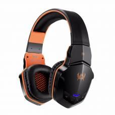 Беспроводные наушники для компьютера с микрофоном Kotion Each B3505 Bluetooth Black/Orange