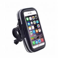 Держатель чехол для телефона на велосипед Bosodasan водонепроницаемый Черный (bsdn-4)