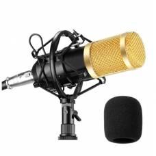 Конденсаторный микрофон Green Audio BM-800 Black с ветрозащитой и пауком