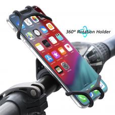 Велодержатель для телефона Floveme Силиконовый Черный (flvm-1)