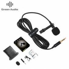 Петличный микрофон Green Audio GAM-141S для ПК/Смартфона/Камеры/Ноутбука