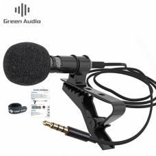 Петличный микрофон Green Audio GAM-142 для телефона