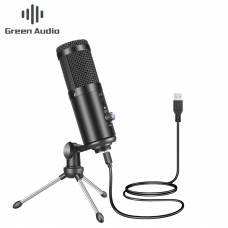 Конденсаторный USB микрофон Green Audio GAM-A6 Black
