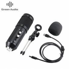 Конденсаторный USB микрофон Green Audio GAM-U04 Black