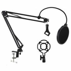 Стойка-пантограф для микрофона Green Audio GAZ-33 с пауком и поп-фильтром