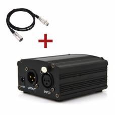 Фантомное питание Green Audio 48V для конденсаторного микрофона
