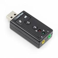 Внешняя USB звуковая карта 7.1 Green Audio GAZ-AU1