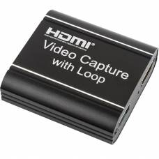Внешняя карта видеозахвата Kotion Each Capture Loop HDVC3 Black (HDVC3-B)