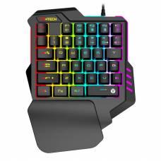 Клавиатура проводная Fantech Archer K512 USB ENG Black (K512b)