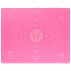Коврик для раскатки и выпечки теста 4Sport SM341 30 х 40 см Pink