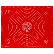 Коврик для раскатки и выпечки теста 4Sport SM341 30 х 40 см Red