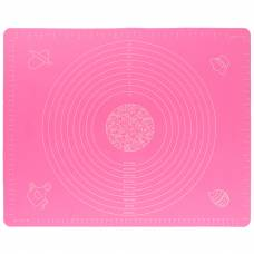 Коврик для раскатки и выпечки теста 4Sport SM451 40 х 50 см Pink