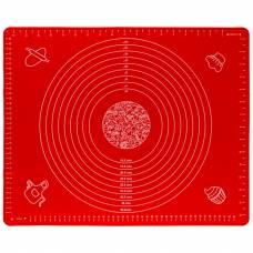 Коврик для раскатки и выпечки теста 4Sport SM451 40 х 50 см Red