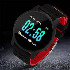 Смарт-часы 4sport W308 Waterproof Fitness Smart Band Black-Red