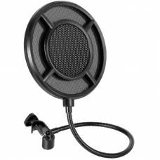 Профессиональный поп-фильтр для микрофона Soncm PS-1 Black