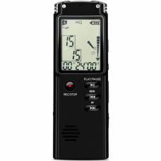 Диктофон с активацией голосом U&P VR60 8GB Black (VR-VR60BK-8GB)