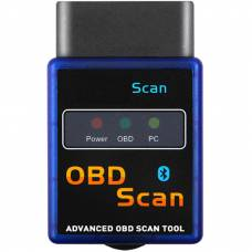 Автосканер диагностический 4Sport OBD2 ELM327 Bluetooth v1.5 Pic18F25K80 Blue (WAZ-ELM327-V2BE)