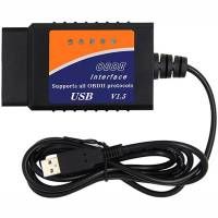 Автосканер диагностический 4Sport OBD/OBD2 ELM327 USB v1.5 Black (WAZ-ELM327-V3BK)