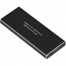 Внешний карман 4Sport WAZ-HC2 для M.2 SSD (NGFF) SATA - USB 3.0 Black (WAZ-HC2-BK)