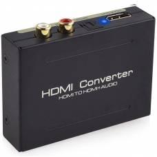 Аудио конвертер 4Sport Audio Extractor HDMI - HDMI / SPDIF / RCA Black (WAZ-HDARC2-B)