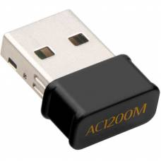 Двухдиапазонный Wi-Fi адаптер 4Sport AC1200 2.4/5GHz Black (WAZ-RTL8812-B)